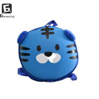 Детска 3Д раница- синьо тигърче