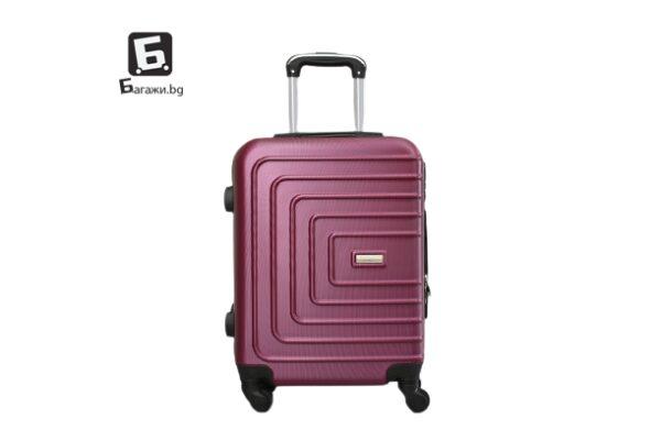 Куфар за ръчен багаж в бордо 55Х40Х20 код: 107-4