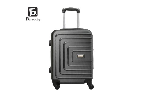 Куфар за ръчен багаж - графит 55Х40Х20 код: 107-10
