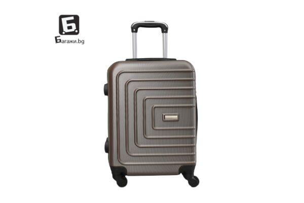 Куфар за ръчен багаж - кафе 55Х40Х20 код: 107-8