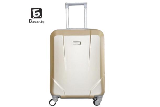 Куфар за ръчен багаж в самолет - злато 55X40X20
