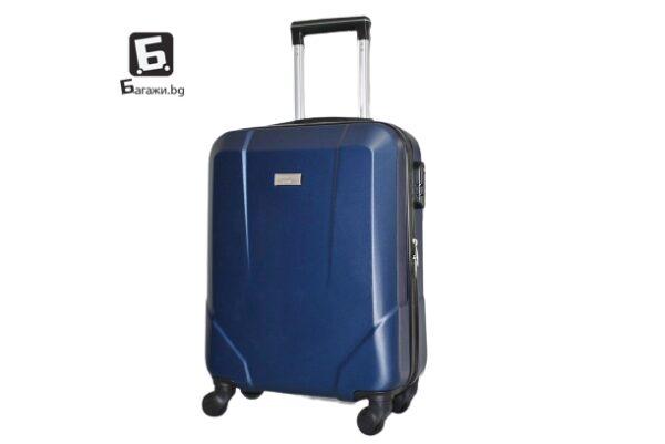 Син куфар за ръчен багаж в самолет 55X40X20
