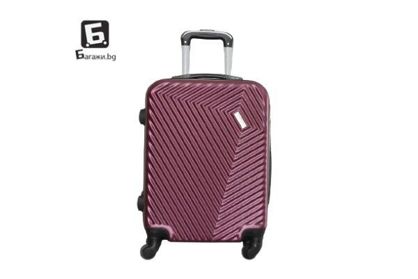 Куфар за ръчен багаж в самолет - бордо 55Х40Х20