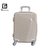 Златист куфар за ръчен багаж в самолет 55Х40Х20
