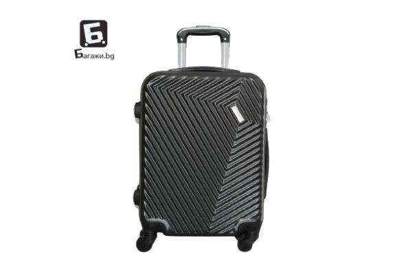 Куфар за ръчен багаж в самолет - графит 55Х40Х20