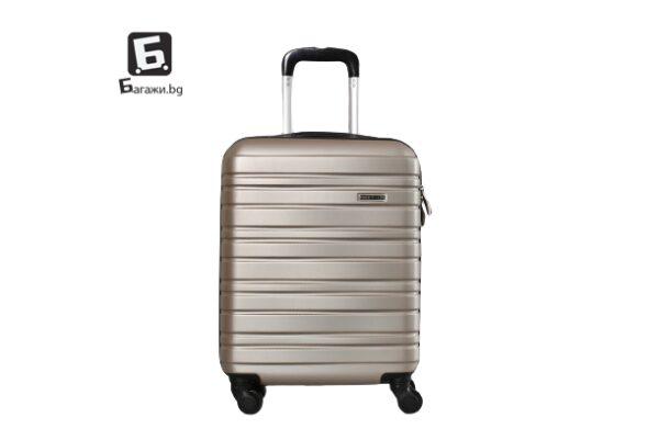Златист куфар за ръчен багаж в самолет 55X40X20