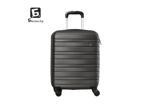 Куфар за ръчен багаж в самолет - графит 55X40X20
