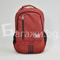 Червена ученическа раница код: 08016-2