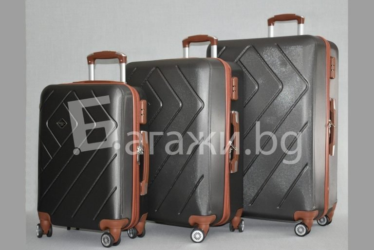 Куфар от ABS - графит код: 842
