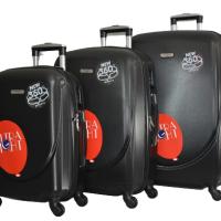 Черен куфар в 3 размера код:1217