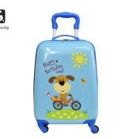 Детски куфар с четири колела куче код: 31800