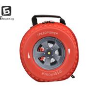Детска 3D раница червена гума код: 21690