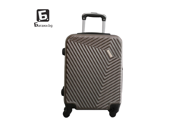 Куфар за ръчен багаж за самолет - кафе 55Х40Х20