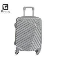 Светло сив куфар за ръчен багаж в самолет 55Х40Х20КУФАР ЗА РЪЧЕН БАГАЖ В САМОЛЕТ - С.СИВ КОД: 015