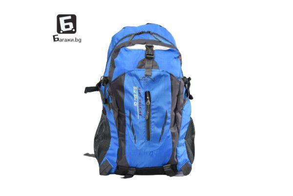 Синя туристическа раница код: 32006 - 1