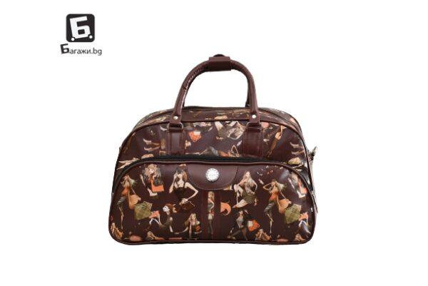 Пътна чанта от кожа в три размера код: 9014 - 3