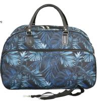 Авио пътна чанта сини листа код: 12107