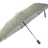 Полуавтоматичен сгъваем чадър- зелен