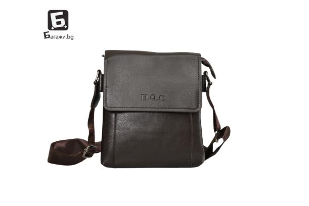 Мъжка чанта от еко кожа код: 8360-1