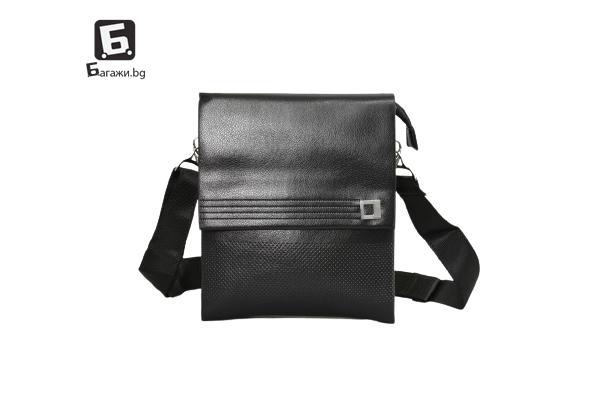 Мъжка чанта от еко кожа код: 0056-2