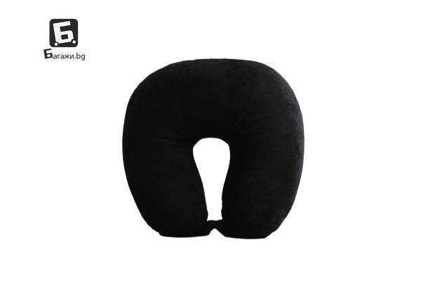 Черна възглавничка за път