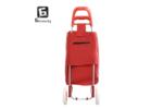 Червена пазарска количка 3
