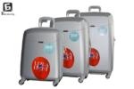Твърди куфари в три размера - сив код: 8093