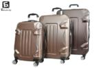 Кафяв куфар в три размера код: 16011