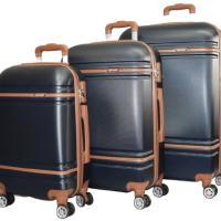 Твърди куфари SuperSpace в три размера - син код: 6086