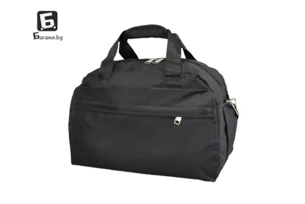Черен авио сак за ръчен багаж 40Х30Х20