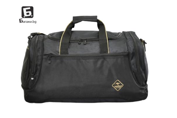 Здрав текстилен сак Roadsign- черен код: 5102