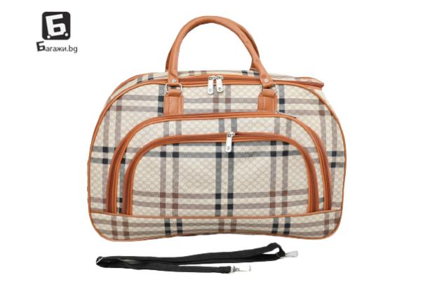 Пътна чанта от еко кожа код: 31694 - 9