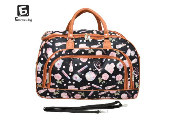 Пътна чанта от еко кожа код: 31694 - 1