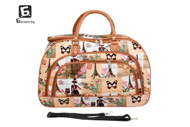 Пътна чанта от еко кожа код: 31694 - 8