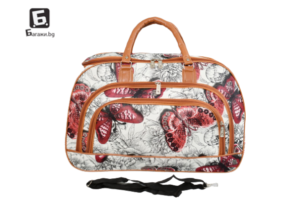 Пътна чанта от еко кожа код: 31694 - 7