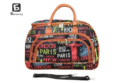 Пътна чанта от еко кожа код: 31694 - 3