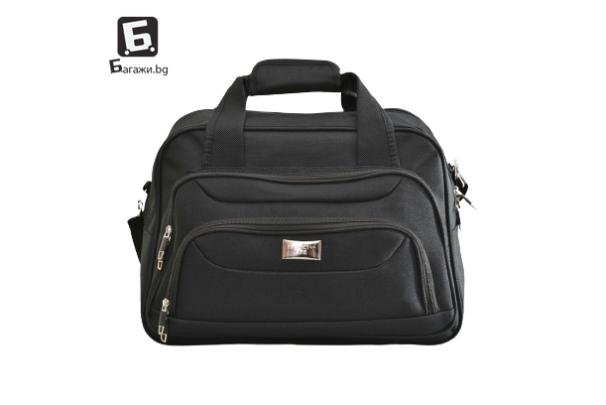 Висок клас черна авио/пътна чанта код: к4