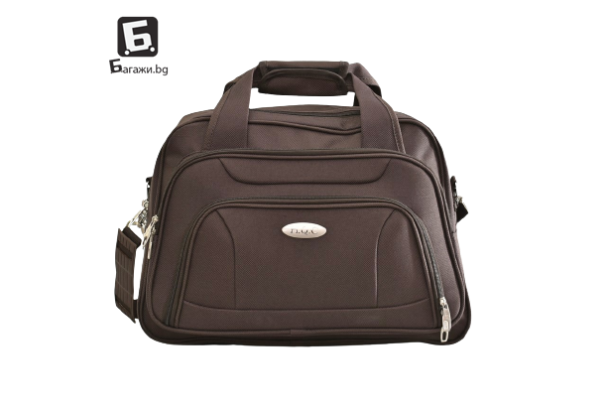 Висок клас кафява авио/пътна чанта код: к4