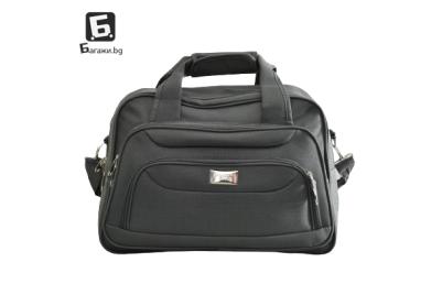 Висок клас сива авио/пътна чанта код: к4