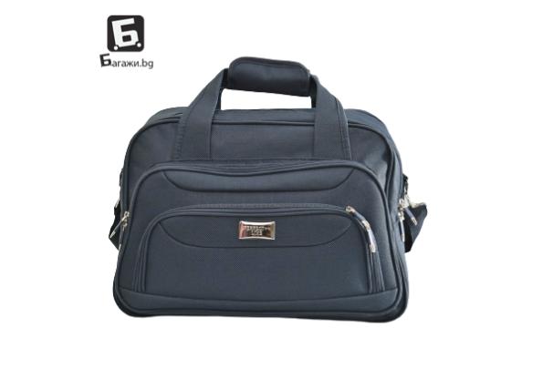 Висок клас синя авио/пътна чанта код: к4