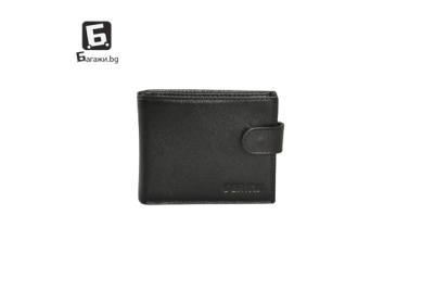 Мъжки портфейл от естествена кожа код: д212