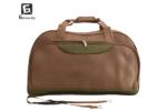 Кафява пътна чанта/сак от текстил код: 11775
