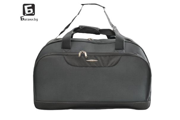 Сива пътна чанта/сак от текстил код: 11775