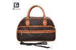 Малка пътна чанта от еко кожа код: 31695-3