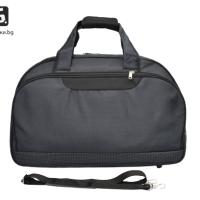 Черна авио/пътна чанта от текстил код: 11774