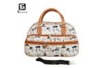 Малка пътна чанта от еко кожа код: 31695-7
