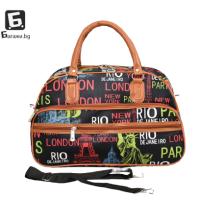 Малка пътна чанта от еко кожа код: 31695-6