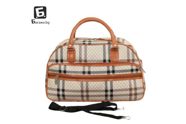Малка пътна чанта от еко кожа код: 31695-5