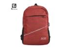 Червена раница с изход за USB кабел код: 31590