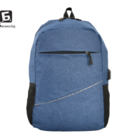 Синя раница с изход за USB кабел код: 31590